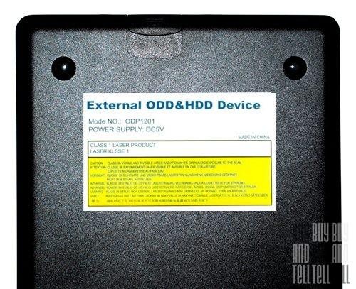 Корпус для внешнего ODD