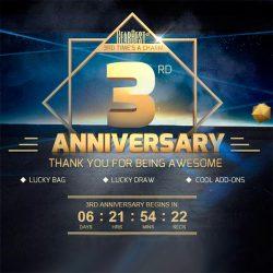 Третья годовщина GearBest.com - поинты