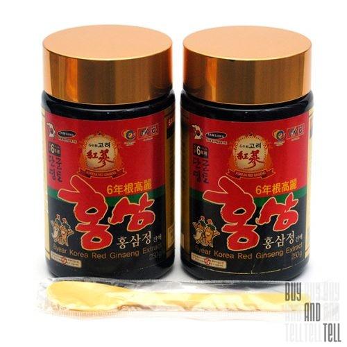6year Korean Red Ginseng Extract - концентрированный экстракт шестилетнего корейского красного женьшеня