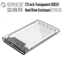 ORICO 2139U3 2.5 Inch SATA USB 3.0 Hard Drive Enclosure