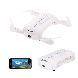 Скидка 3$ на дрон 0.3MP Camera Wifi FPV Foldable Pocket Drone за 26.99$