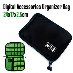 Digital Accessories Organizer Bag