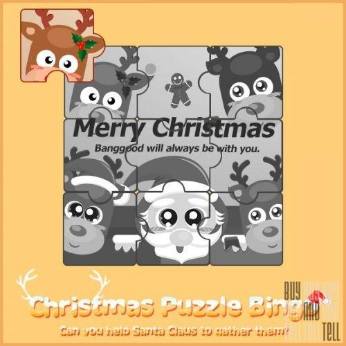 Christmas Puzzle Bingo