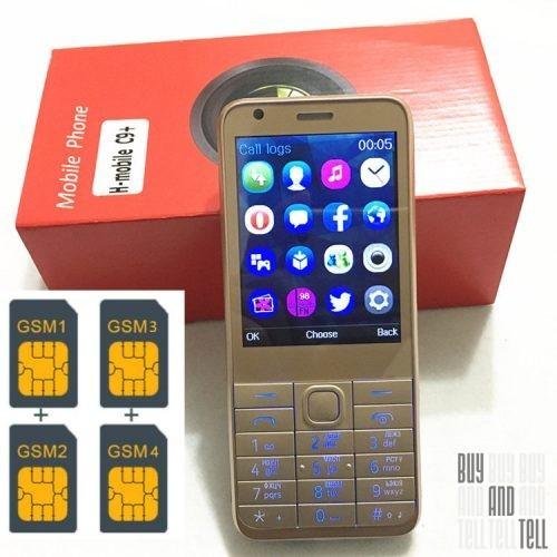 4SIM Телефон C8+