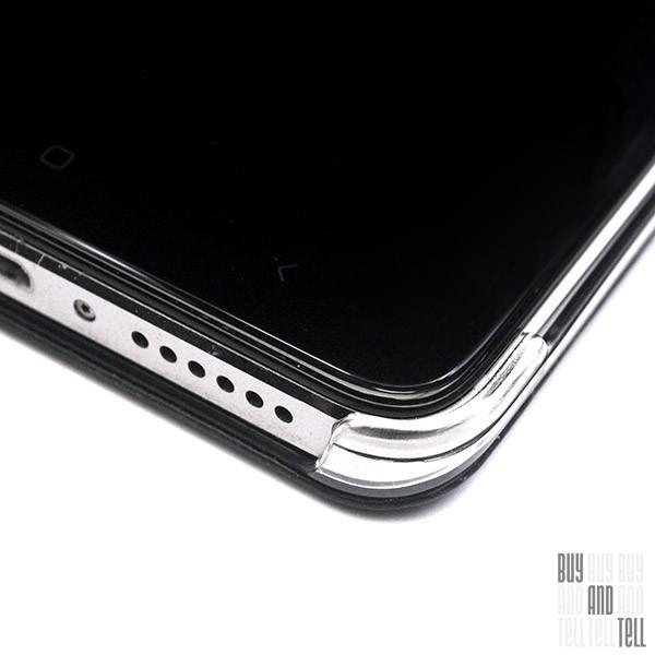 Силиконовый чехол с рамкой для Samsung Galaxy J3 (2016) DF sCase-28 (black)