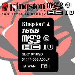 MicroSD Kingston 16Gb