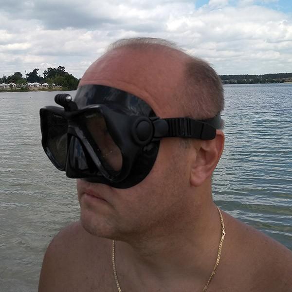 TELESIN Scuba Diving Mask