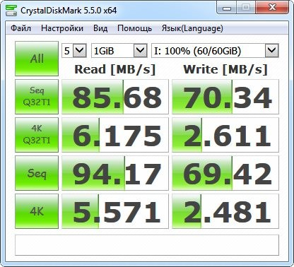 MicroSDXC UHS-I Samsung EVO 64 Gb