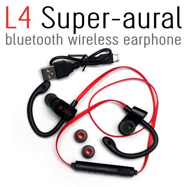 L4 Super-aural Bluetooth Wireless Earphone