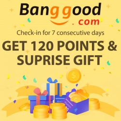 Banggood Daily Check-in