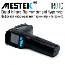 MESTEK IR01C Digital Infrared Thermometer and Hygrometer