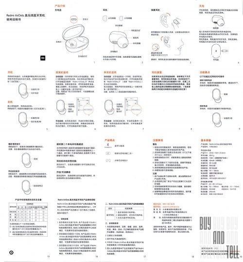 Беспроводные наушники-гарнитура Xiaomi Redmi Airdots