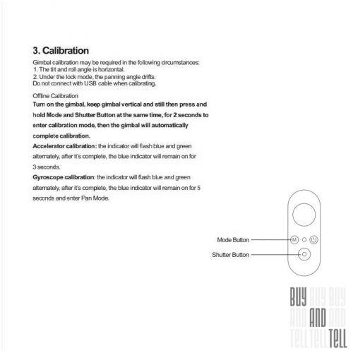 YI Smartphone Gimbal - трехосевой стабилизатор для смартфона