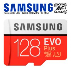 MicroSDXC UHS-I Samsung EVO Plus 128 Gb