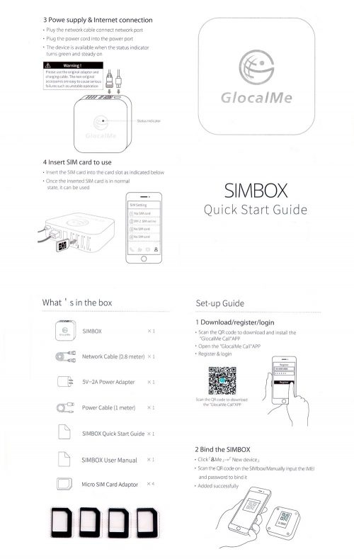 GlocalMe SIMBOX