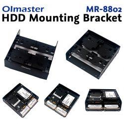 OImaster MR-8802 - шесть HDD/SSD дисков 2,5″ в слот 5,25″