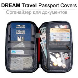 DREAM Travel Passport Covers