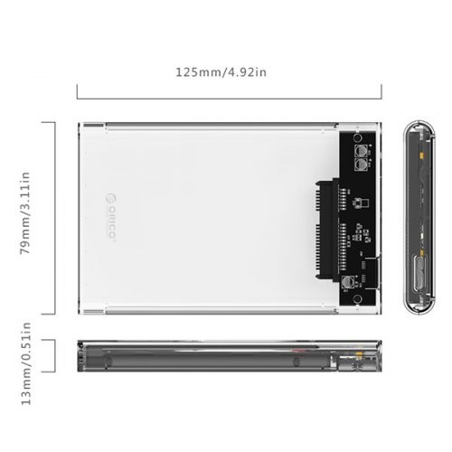 Orico 2.5 inch HDD Enclosure