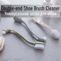Double-end Shoe Brush Cleaner