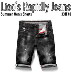 Summer Men's Shorts Liao's Rapidly Jeans
