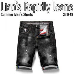 Summer Men's Shorts Liao's Rapidly Jeans