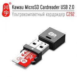 Kawau MicroSD Cardreader USB 2.0 - картридер, который не смог