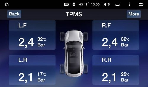 Teyes TPMS TP02 - мониторим давление в шинах